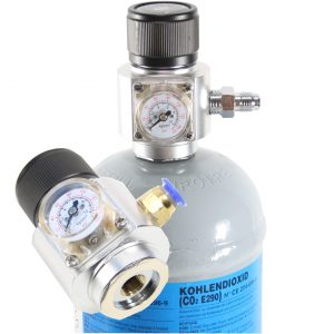 Co2 regulator mini med manometer