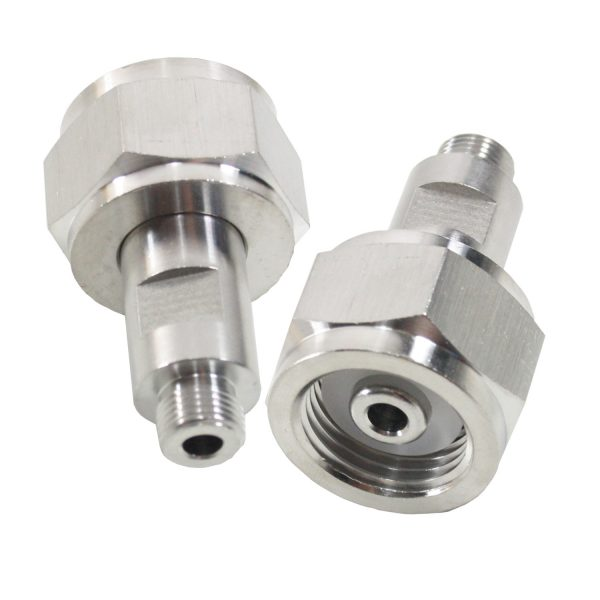 Co2 nippel adapter W21,8 ~ M10x1 og M11x1