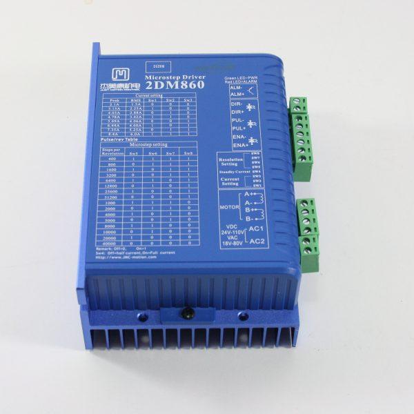 Stepmotorstyring 2DM860