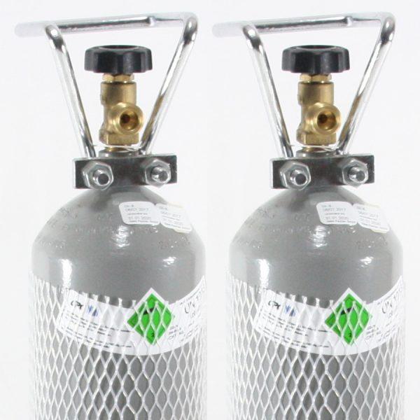 Genopfyldning af co2 flasker