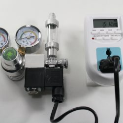 Co2 regulator med magnetventil